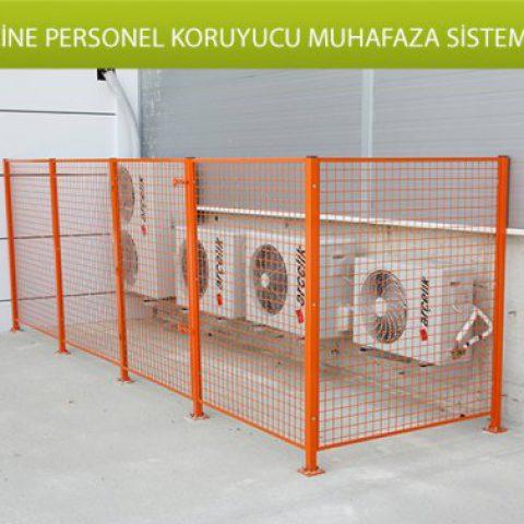 Makine ve Personel Koruyucu Muhafaza Sistemleri