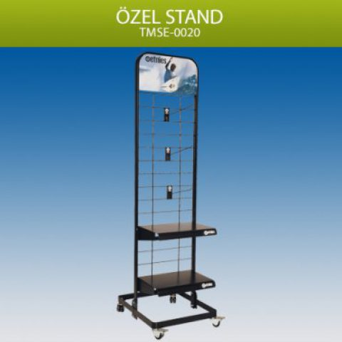 Tekerlekli Model Stand – TMSE0020