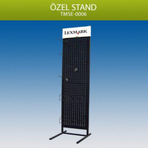 Delikli Panolu Geniş Gövde Stand – TMSE0006