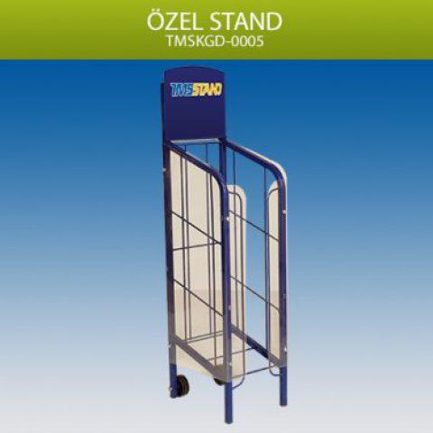 Özel Tasarım Ürün Sergileme Standı – TMSG0005