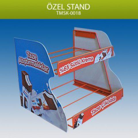 Masaüstü Model Kasa Yanı 2 Raflı Stand – TMSK00018