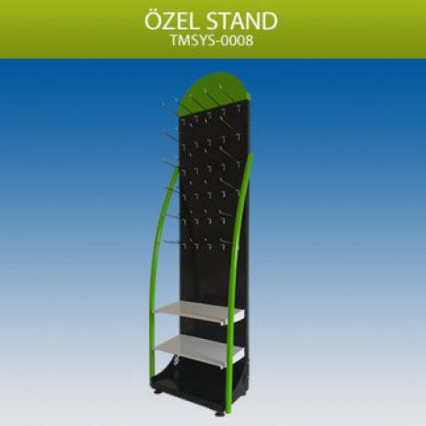 Özel Tasarım Ayarlanabilir Raflı Stand – TMSYS0008