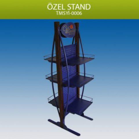 3 Katlı Özel Tasarım İçecek Standı – TMSY0006