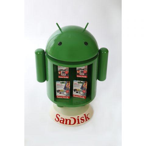 Konsept Android Flash Bellek Standı TMS2315
