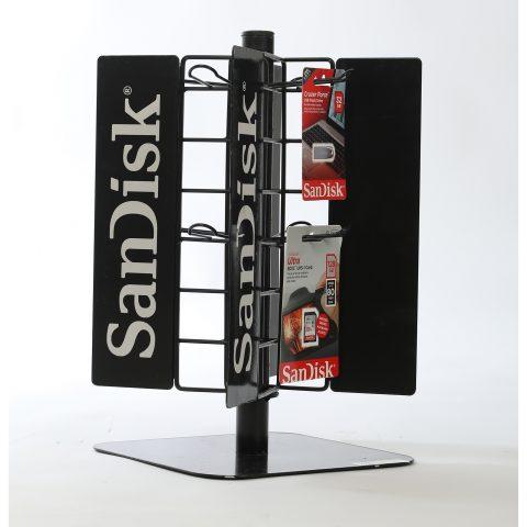 Masaüzeri Döner Flash Bellek Standı TMS6895